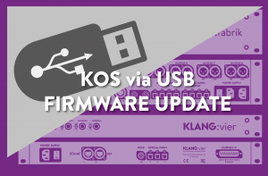 KOS KLANG Operating System – Firmware Update
