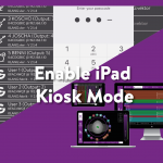 Activate Kiosk Mode for KLANG:app on iPad