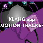Use KLANG:app as Motion Tracker