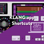 KLANG:app Shortcuts