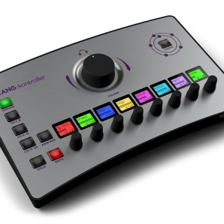 The intuitive mix interface delivers fast tactile user control of channels, groups and immersive mixing.